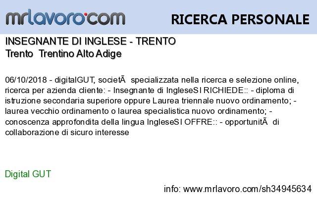 mrlavoro.com on Twitter: \