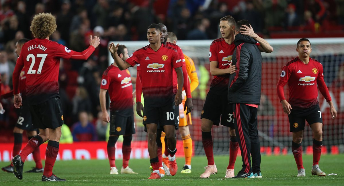 Massive belief from all the lads to bring it back. We keep working 💪🏾 #MUFC