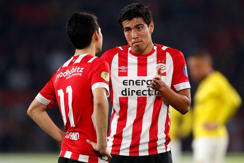 Hirving Lozano y Erick Gutiérrez estarían en México con el PSV Eindhoven
