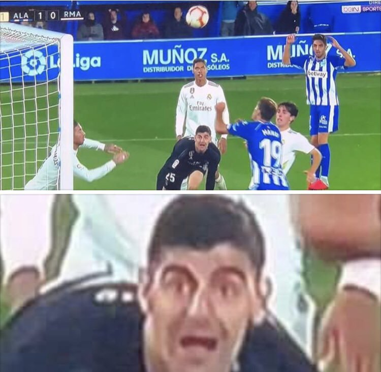 Nothing gives me joy than to see That tall giraffe courtois drinking goals <br>http://pic.twitter.com/MesxP9XoEy