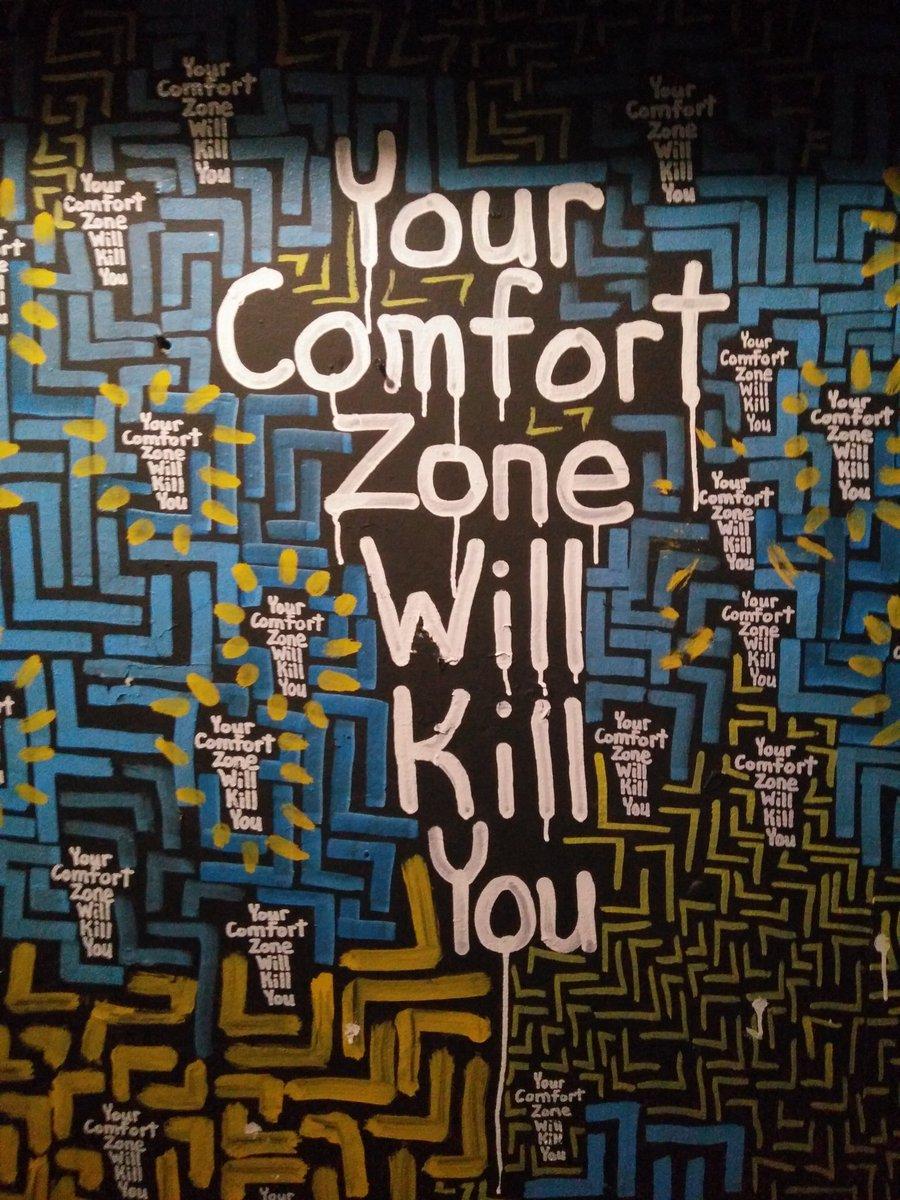 comfort zone svenska
