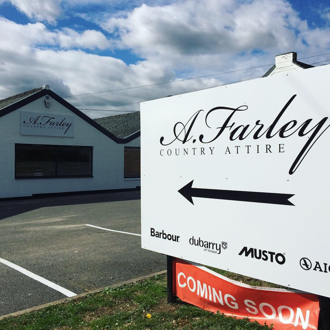 ae2f7e23d12 We re looking forward to opening the doors next week.  newshopopening   kibworth  afarleycountryattire  countryside  countryclothing   countrylifestyle ...