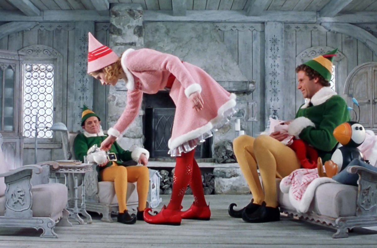 Classicman Film On Twitter Elf 2003 After Innocently Wreaking Havoc On The Elf Community Due To His Ungainly Size A Man Will Ferrell Raised As An Elf At The North Pole Is