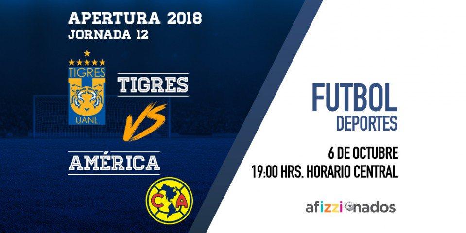 ¿Qué hace mejor el sábado? ¡Que sea de futbol! ⚽️ Los Tigres se enfrentan a las Águilas en este Torneo de Apertura 2018. Disfrútalo por afizzionados. https://t.co/2rWXujM89j