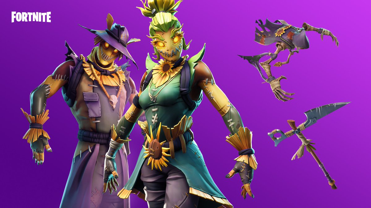 Fortnite S Tweet Reap What You Sow The New Straw Stuffed Gear Is