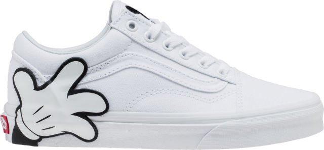 vans x disney mickey old skool mens skateboarding shoe white black 7b0c37d31