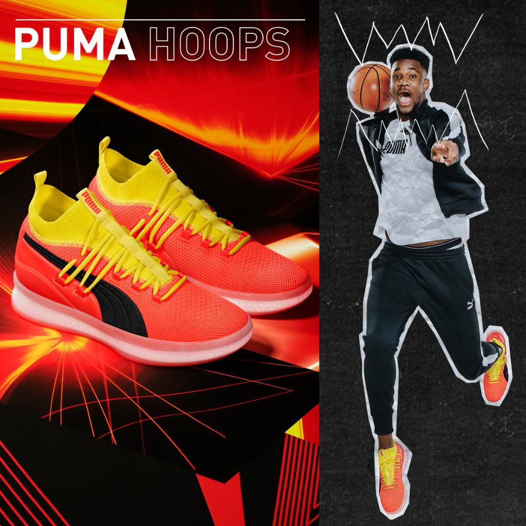 6c004a62501 We out.  PUMA CLYDE COURT DISRUPT Launching 10 11 in Select Stores!pic. twitter.com kRYTcYkt0y