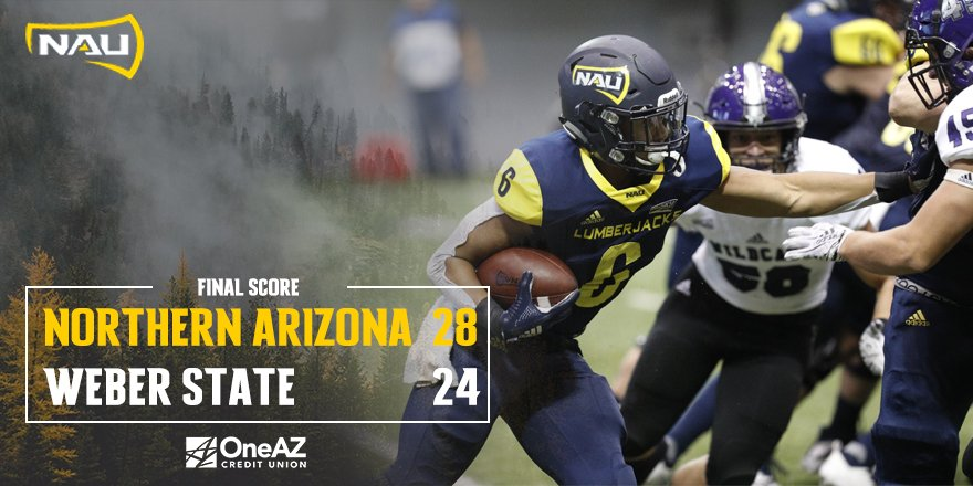 Nau Football On Twitter The Lumberjack Defense Stands Stout