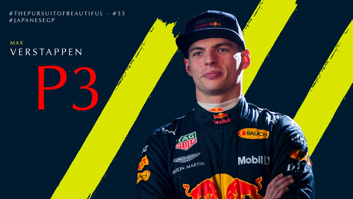 A great P3 for @Max33Verstappen…