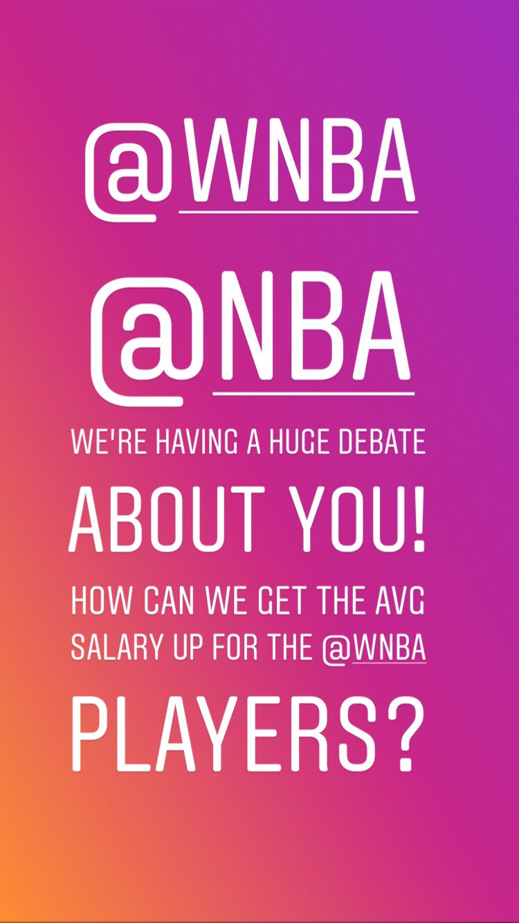 @WNBA and @NBA   @Ronnie2K can you help? Add WNBA players to 2K games?  #nba #wnba https://t.co/HqtdwO9G6m