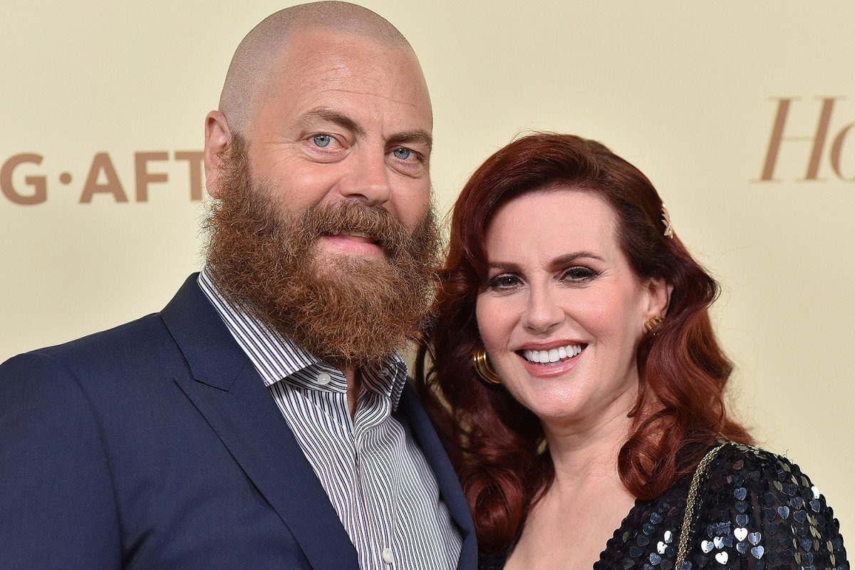 New York Post On Twitter How Nick Offerman And Megan Mullally Have