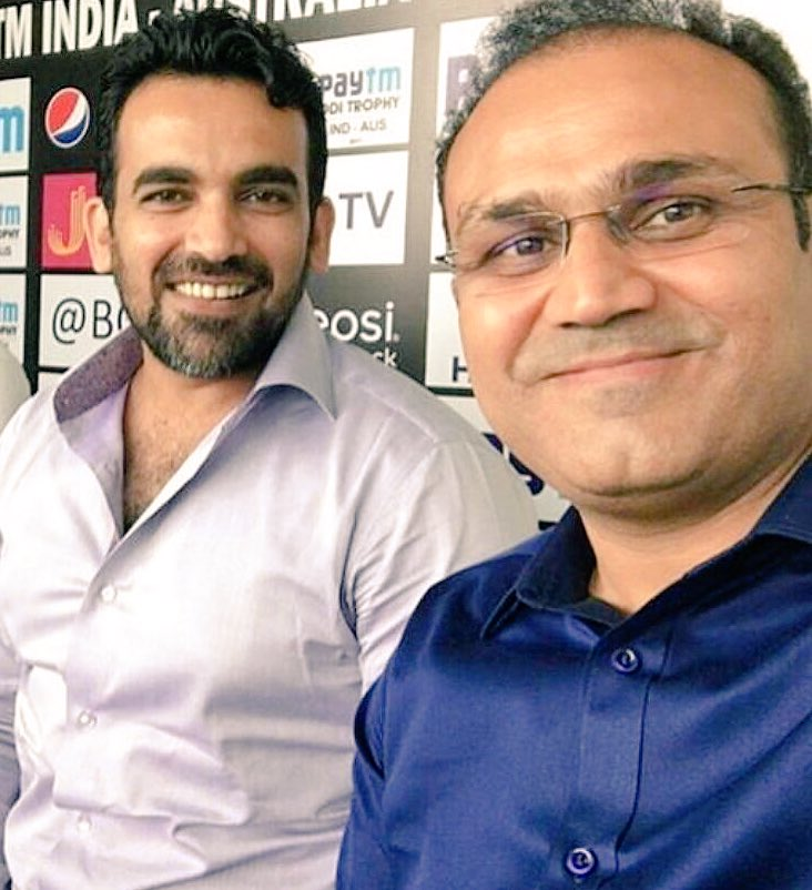 Happy Birthday to the man whose deliveries gatecrashed many stumps , have a great life ahead Gyaan Baba @ImZaheer !