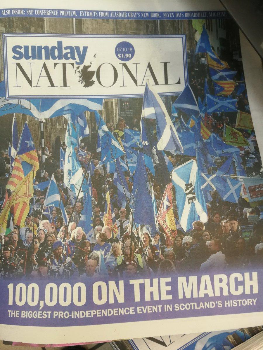 Марш за независимость Шотландии