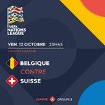 #NationsLeague J-5⃣ avant l'énorme choc francophone de la 2e journée dans la Ligue A! 🇧🇪️🇨🇭️  Qui va l'emporter à Bruxelles?