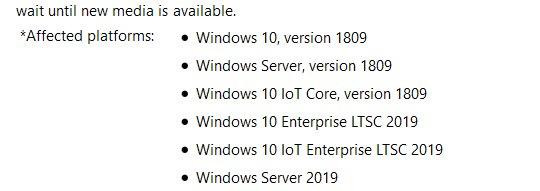 📢Windows 10 October 2018 Update, Ver  1809