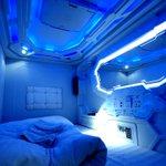 わざわざ泊まりに行きたい!宇宙船チックなカプセルホテル!
