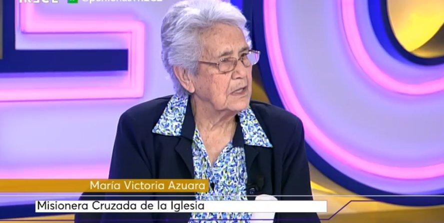 Mirakelnonnen, sr. María Victoria Azuara MCI