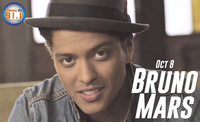Happy birthday to singer-songwriter, multi-instrumentalist, record producer, and dancer Bruno Mars