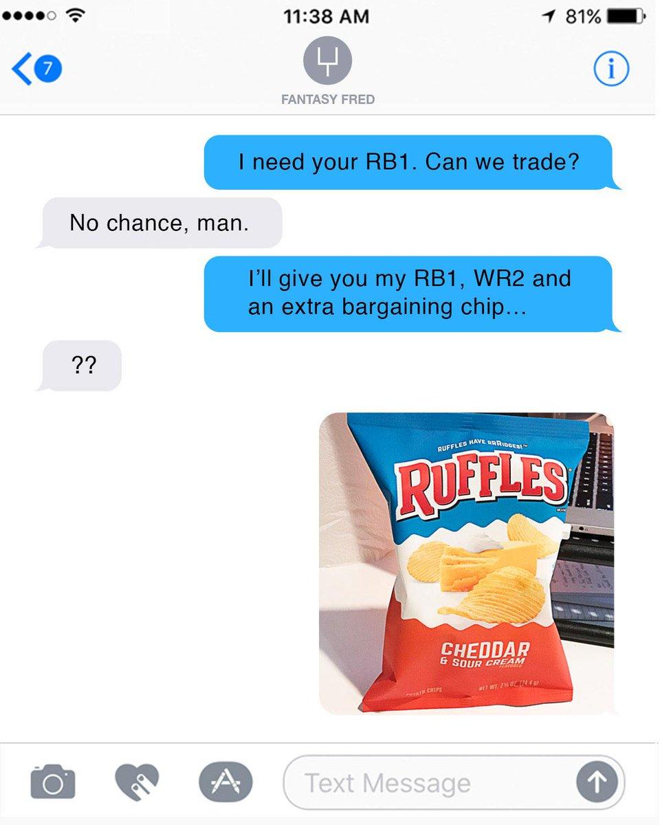 RUFFLES on Twitter: