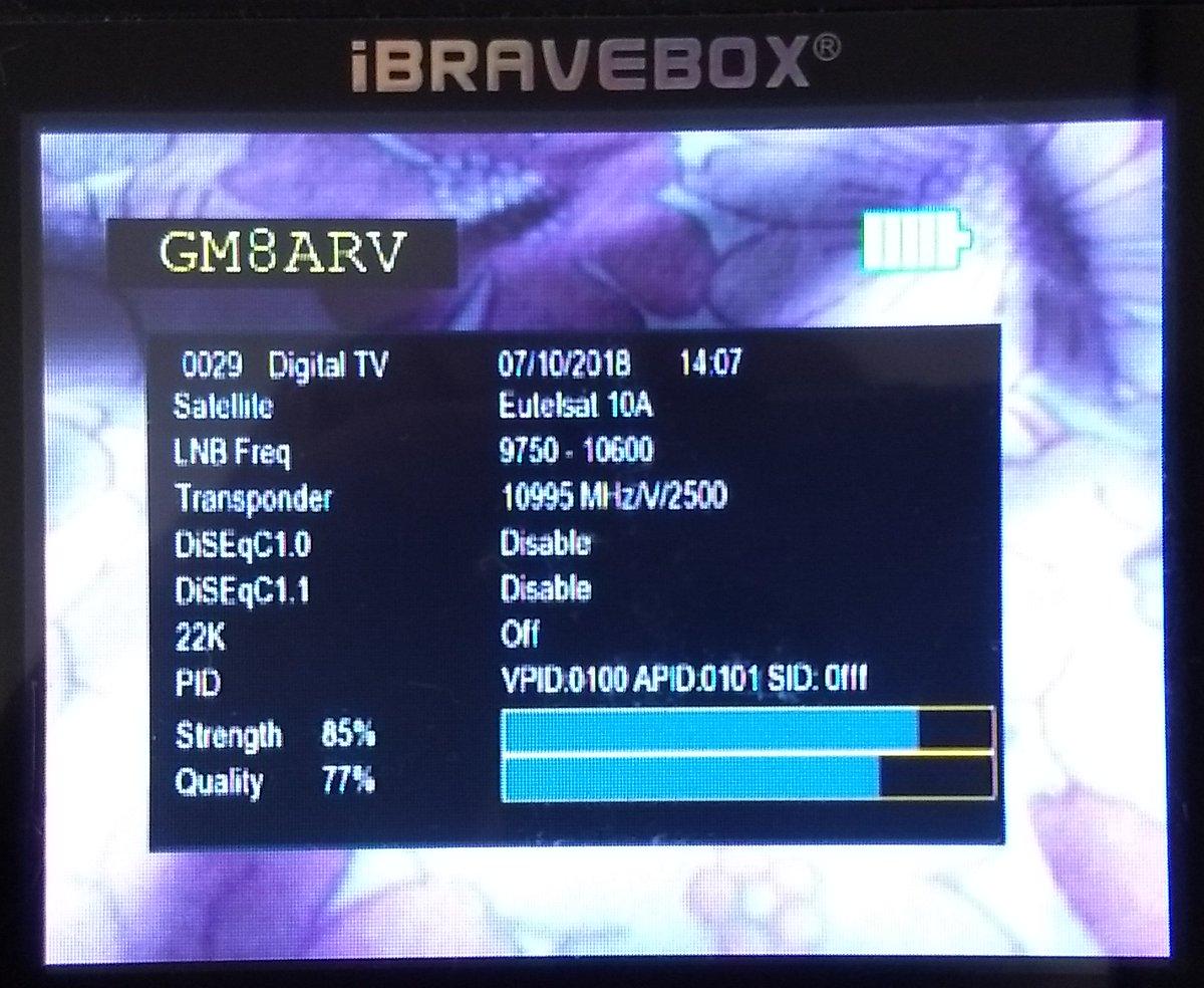 3ghz amateur television receiver