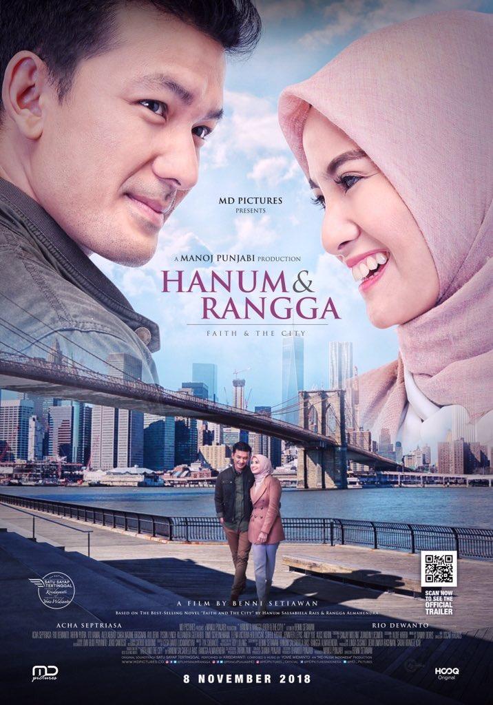 Film Hanum Rais dan A Man Called Me Ahok Rilis Bersamaan, Ini Hasil Votingnya