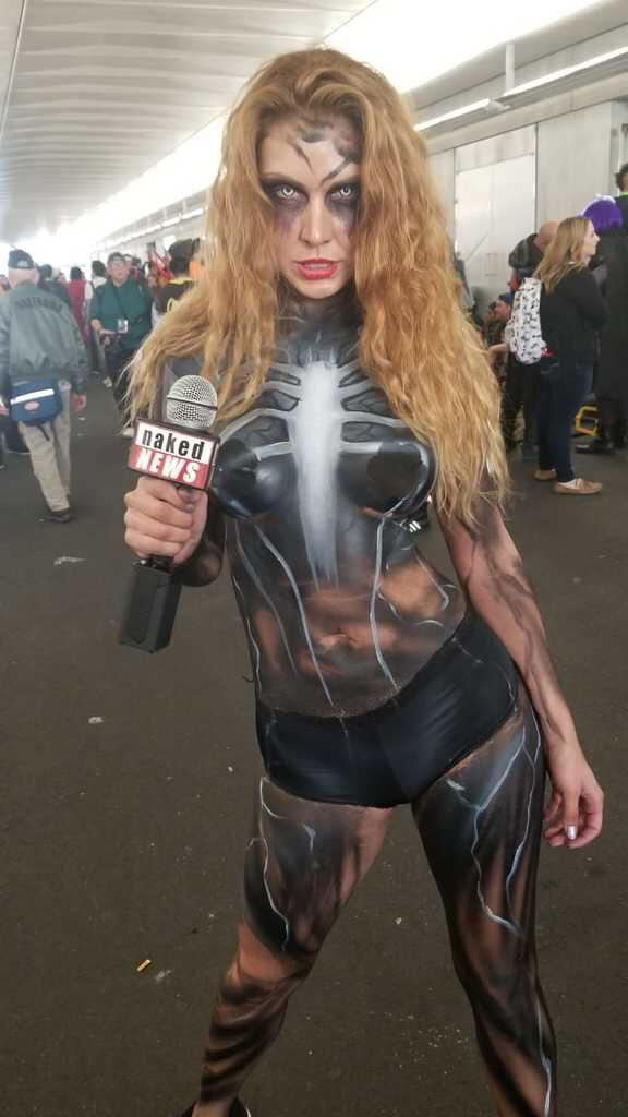 Naked News on Twitter: Were hitting the @NY_Comic_Con