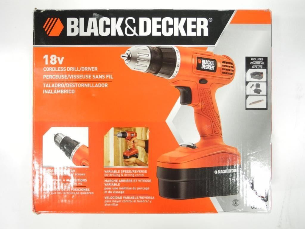Black and decker 18v Cordless trimmer Manual
