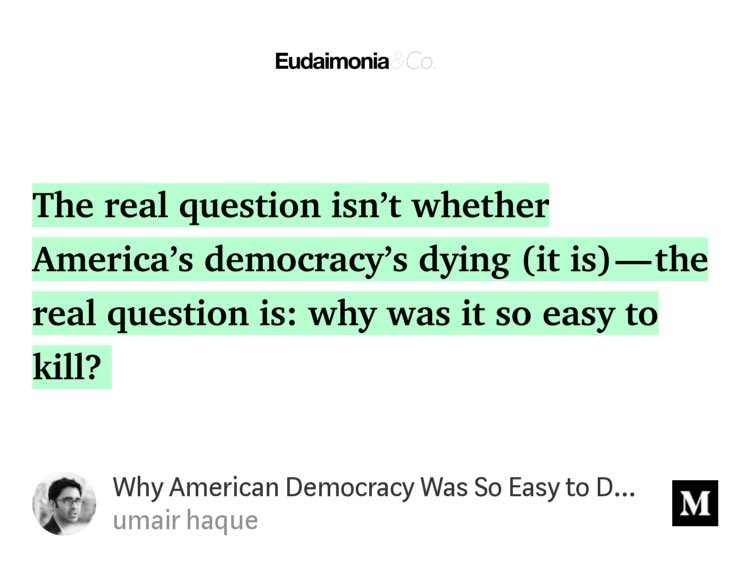 why the american democracy does not American democracy is what is known as tyranny of the majority this means that the group who makes up the largest part of the population in terms of numbers, or of power, can rule supreme over everybody else, because everybody else has.