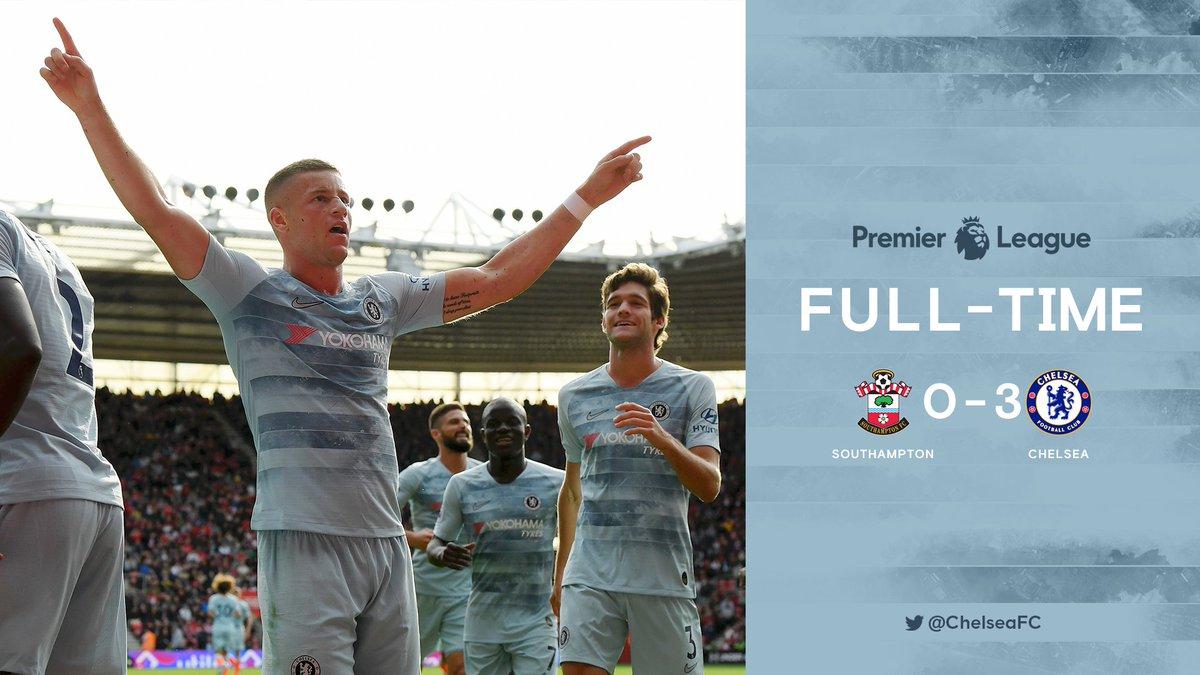 Chấm điểm kết quả Southampton 0-3 Chelsea