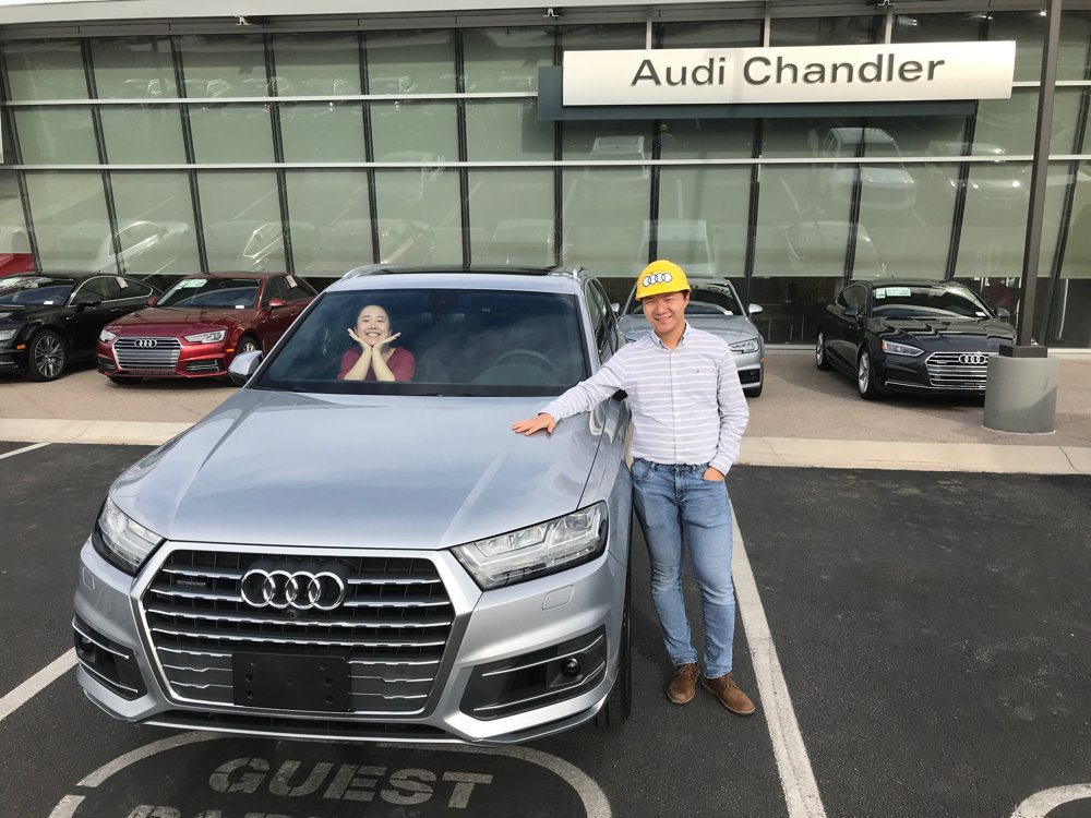 AUDI Chandler AUDICHAND Twitter - Audi chandler