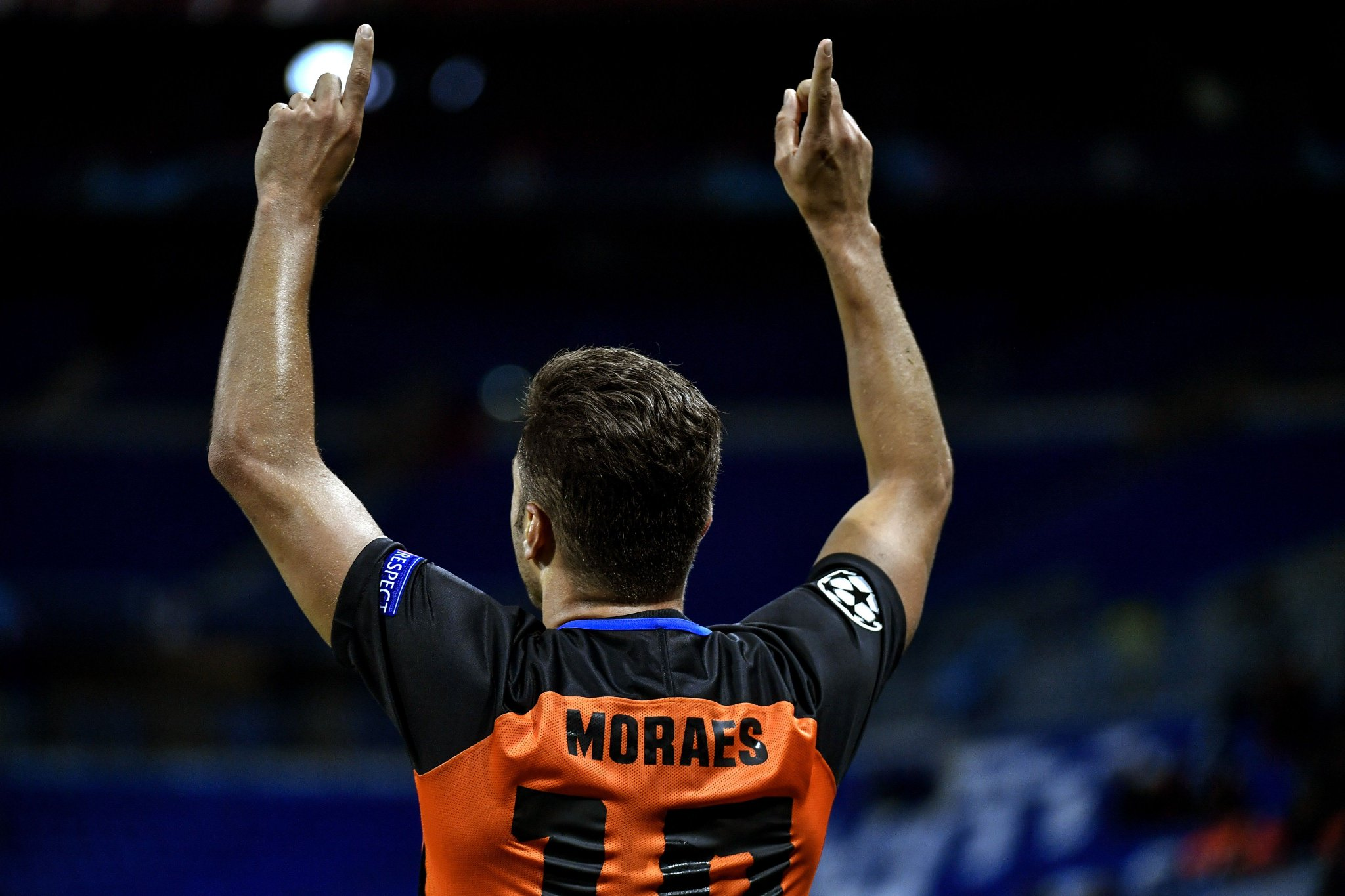 Júnior Moraes has now hit 1⃣2⃣ goals in 1⃣4⃣ games for Shakhtar. ����  #UCL https://t.co/ZbxAyw5Ntp