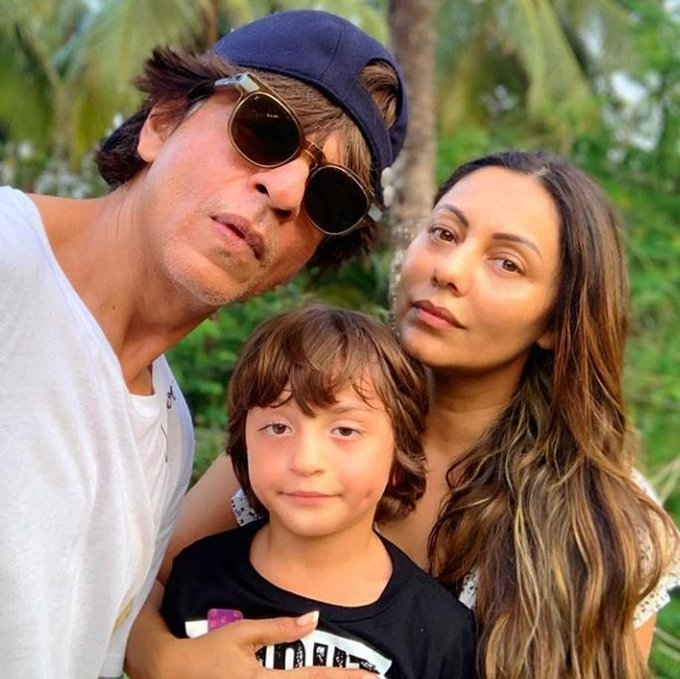 Gauri khan with family on Instagram . . . Happy birthday Strongest Woman