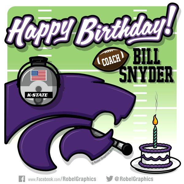 Happy Birthday to Coach Bill Snyder!