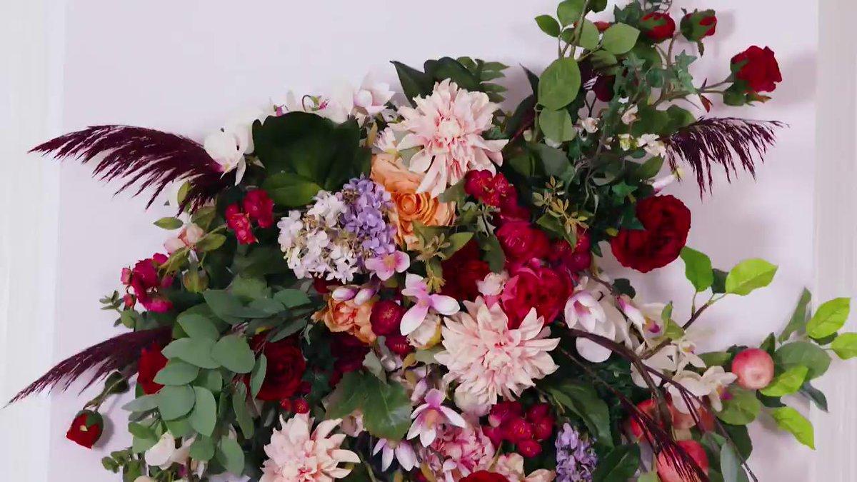 Your next party needs a flower chandelier. hsbu.us/WzaO1Cj