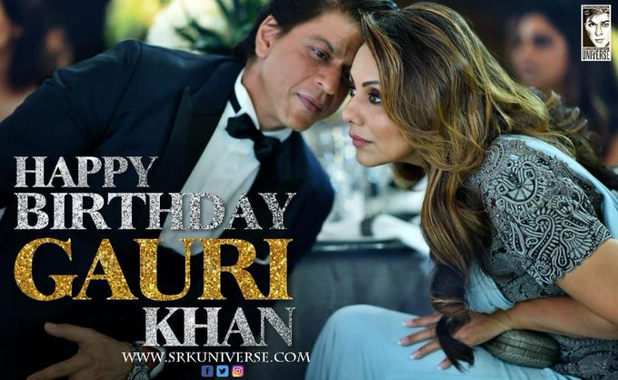 Wishing u very very Happy Birthday Gauri Khan