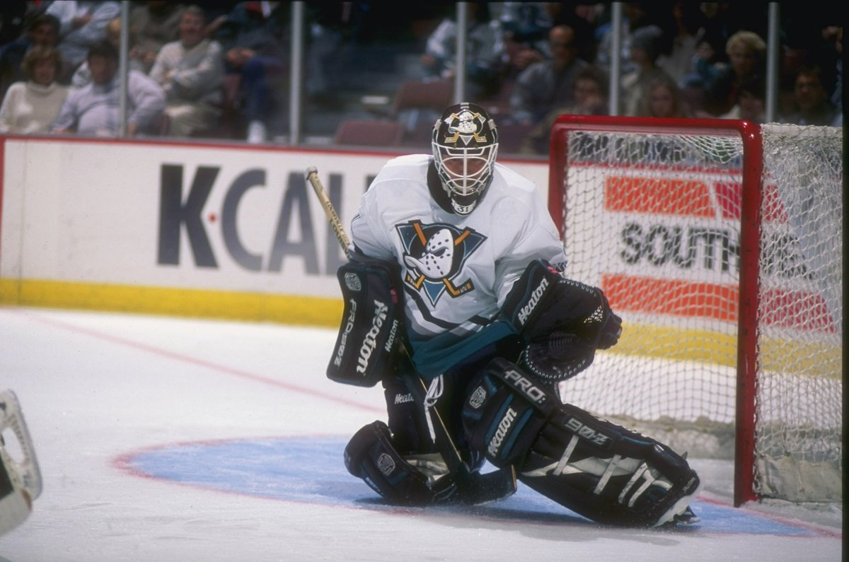 f34eb98bc99 Be there for warmups as we hit the ice in the 1993 Mighty Ducks home  jerseys. Then, get in your seats before puck drop as we debut our new  @adidashockey ...