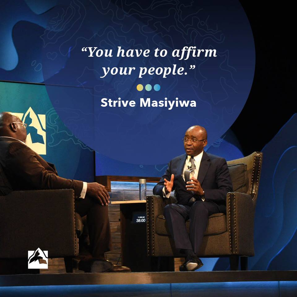 We were honored to have Strive Masiyiwa at #GLS18. How are you affirming your people today? <br>http://pic.twitter.com/C3NW0q4WUE
