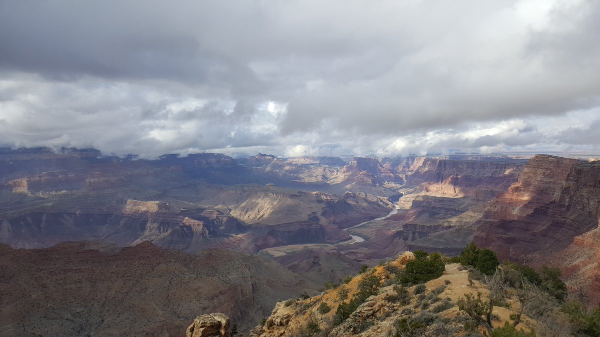 Grand Canyon Nps On Twitter With The Stormy Weather Today