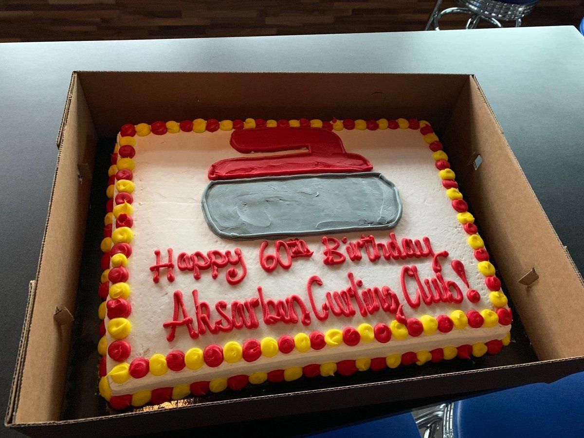 Birthday Cake Reading Happy Aksarben Curling