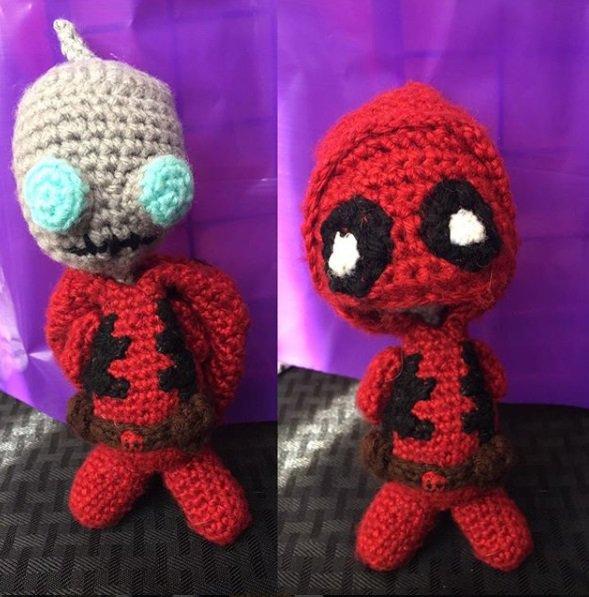 Crochet Nerd Style On Twitter Even Gir Is Ready For Halloween