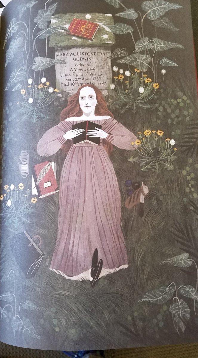 Mary Who Wrote Frankenstein de Linda Bailey et Julia Sarda Do8R9sNU0AEwkya