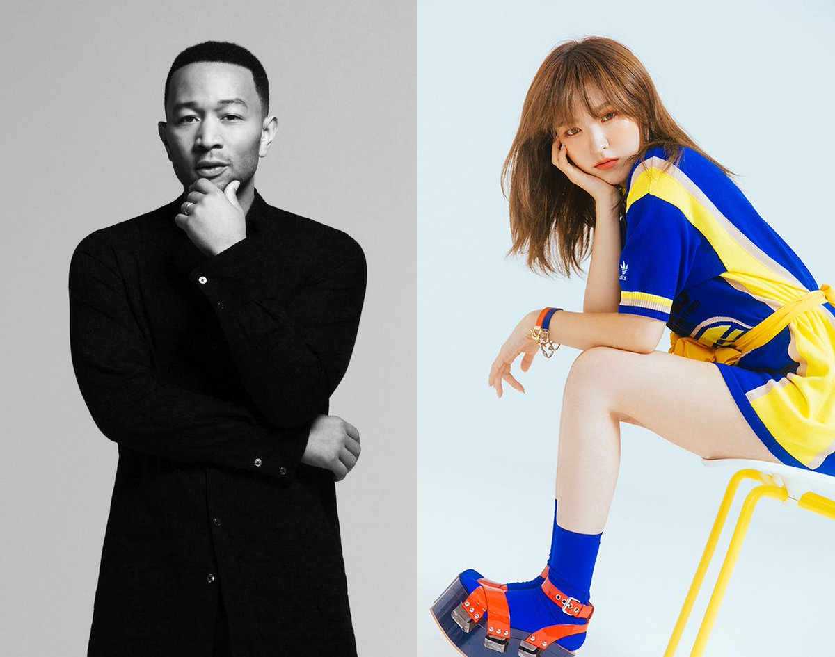 Guess who is coming for the hidden collaboration of 'STATION X 0' project! Red Velvet's WENDY and a global artist John Legend will be releasing a duet song 'Written In The Stars' as the fifth liner of the project!   🎧#JohnLegend X #WENDY '#WrittenInTheStars': 2018.10.19. 6PM KST