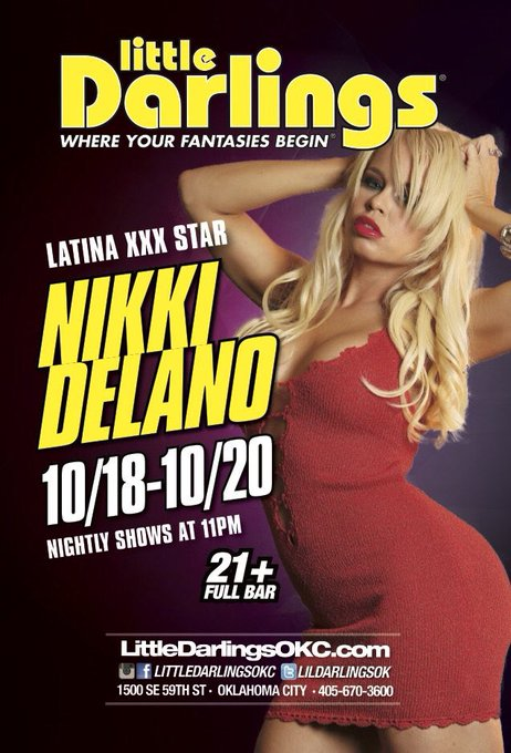 Meet me Live next weekend 10/18-20 in OKC at @Lildarlingsok & @dejavuokc can't wait to be back https://t