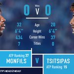 📢 EPIC MATCH ALERT 📢   🇫🇷 Gael Monfils vs. 🇬🇷 Stefanos Tsitsipas   Let us know who you are backing to reach the second round in Shanghai. 👇