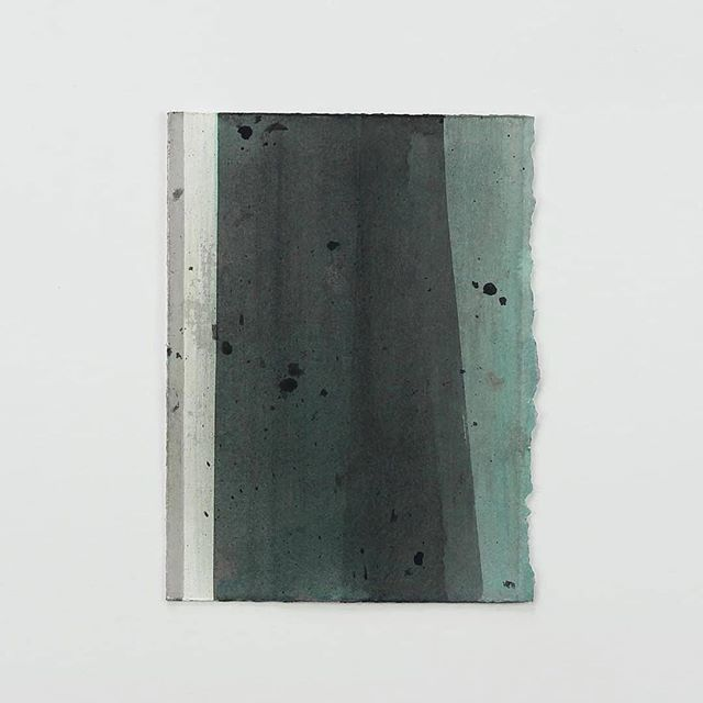 """Untitled"" by #DouglasWitmer, 2018 Acrylic on paper, 7.5 x 5.5 in. — #artoffaith #artonpaper https://ift.tt/2OcQxYb"