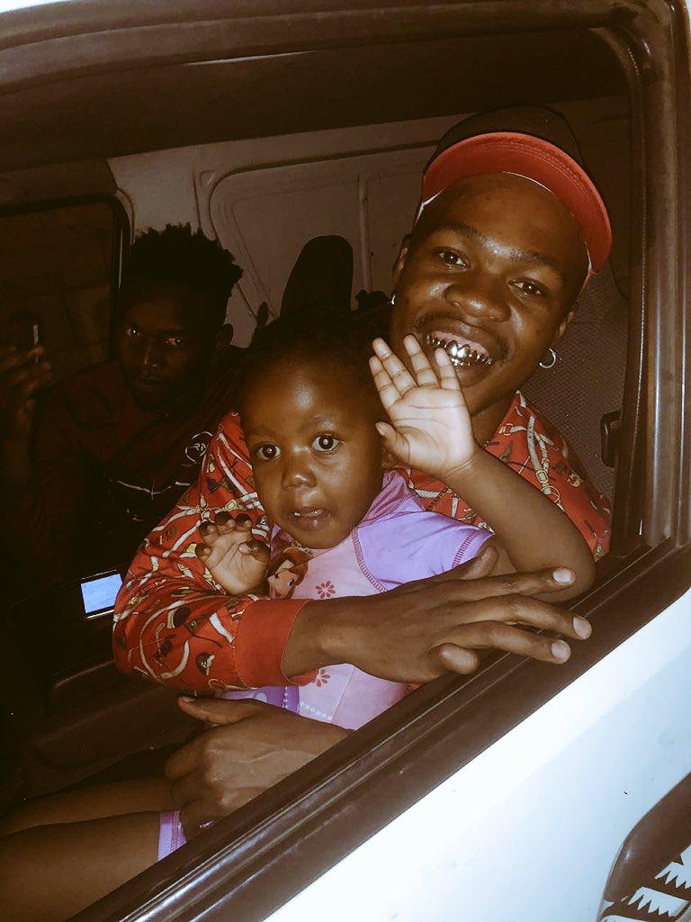 Daddy Look Who Came To Visit😃🙏 @MaterialDonDada @KasiStyle_SA