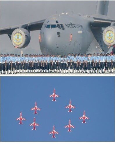 @Gori1m @AzaadBharatOrg Big solute to indian Air Force , Who will be forgot there own Happiness and work for make a Happy Nation . Happy #AirForceDay #MondayMotivation Photo