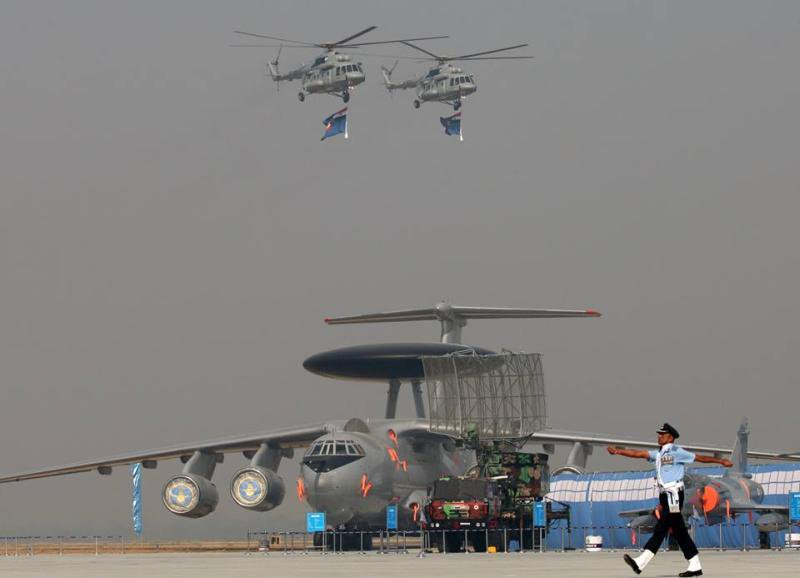 Парад в честь 86-летия ВВС Индии 86летия, Индии, статической, случаю, мероприятия, праздничные, экспозиции, впервые, SPYDER, продемонстрированы, производства, прошли, израильского, Газиабад, честь, Парад, dambiev, коллеги, октября, авиабазе