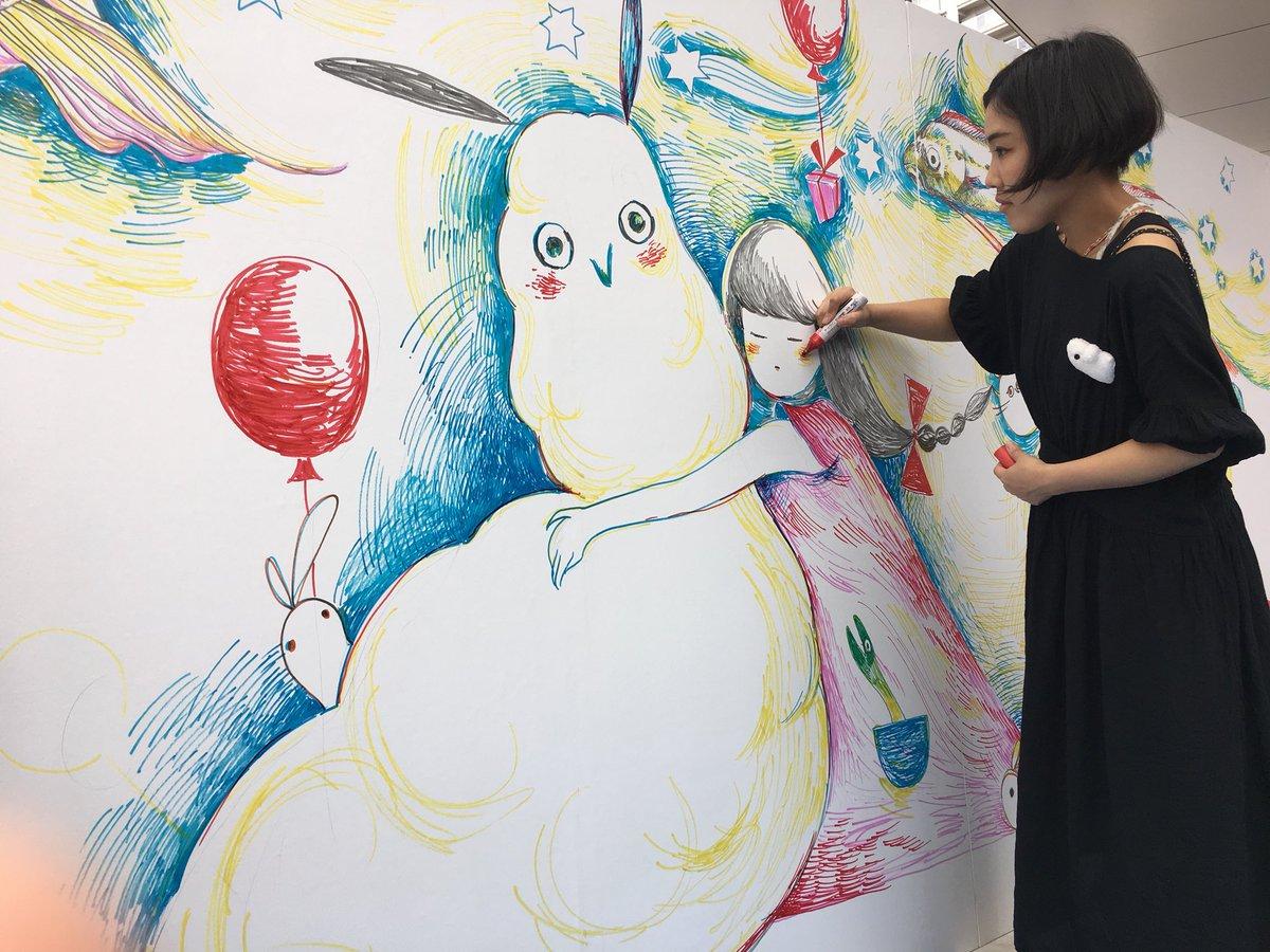"""ASAKAアートスクール в Twitter: """"朝霞アートマルシェにて。 ただいま ..."""