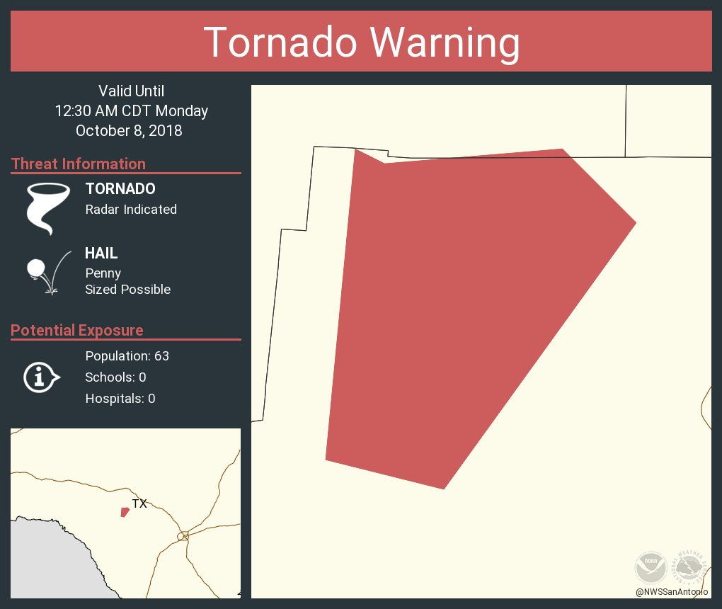 Nws Austinsan Antonio On Twitter Tornado Warning Including Real